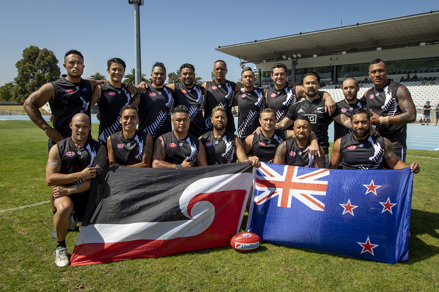Pacific footy