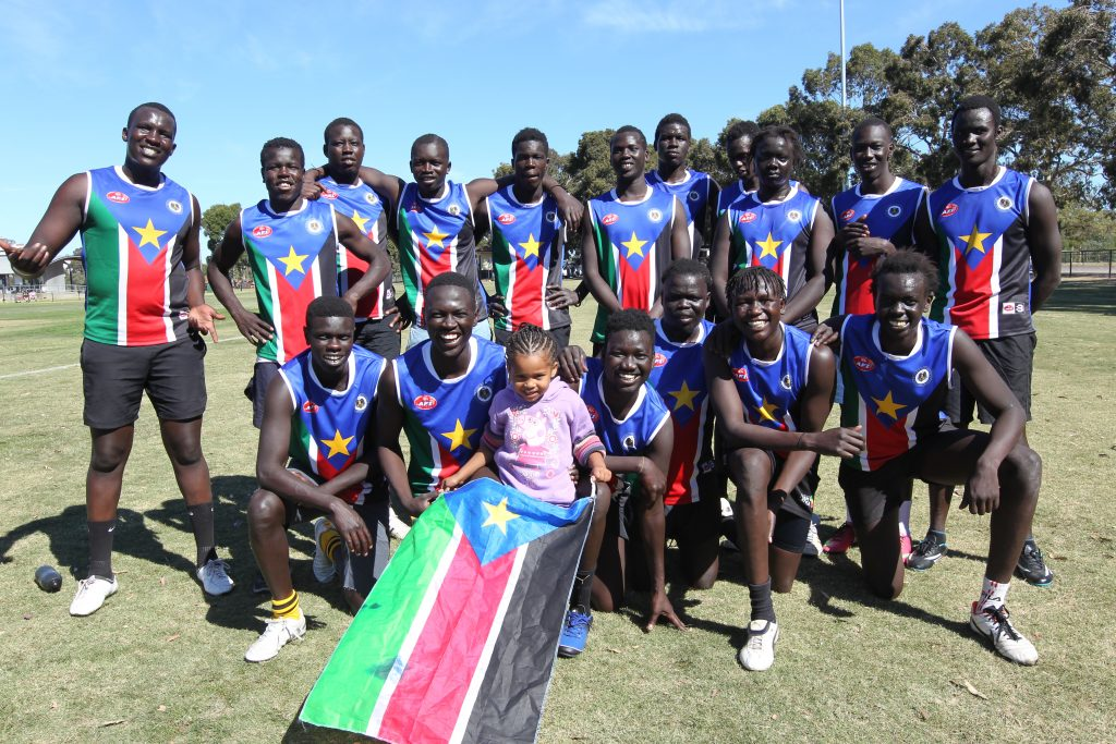 South Sudan footy
