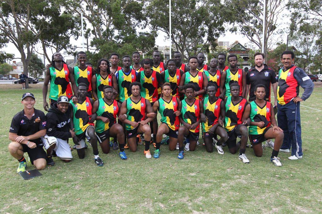 Team Africa footy